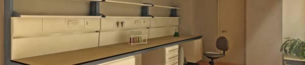 Современная лаборатория. Шкафы вытяжные для работы с ЛВЖ