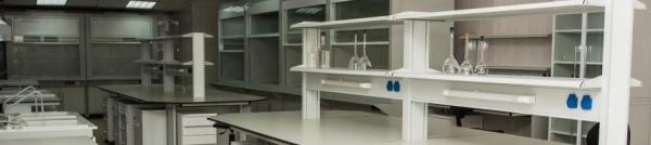 Современная лаборатория. Лабораторные шкафы фото