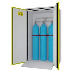Шкаф для безопасного хранения газовых баллонов Ш-ЛВЖ-1200ВБ